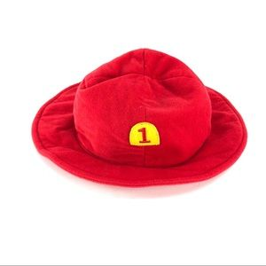 Old Navy Baby #1 Fireman Hat Size 3-6M